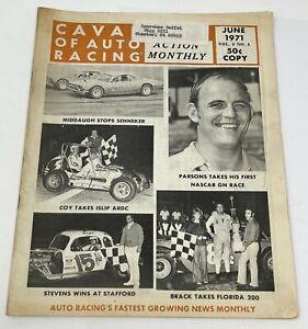 Cavalcade of Auto Racing August 1971 Volume 8 No. 4