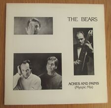 """THE BEARS Aches & Pains 1988 US PROMO 12"""" VINYL SINGLE ADRIAN BELEW I.R.S 7745"""