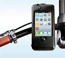 BIKE BICYCLE MOUNT HOLDER STAND WATERPROOF TOUGH CASE APPLE iPHONE 4 4G 4S