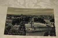 Cartolina Roma Piazza del Popolo vista dal Pincio (BI60)