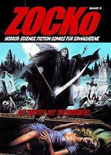 Zocko 9 la hija del totengräbers horror erotismo cómic Science Fiction chacó