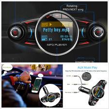 12/24V Puerto 2USB Bluetooth manos libres para automóvil SUV Kit de reproductor de MP3/WMA modulador de FM AUX