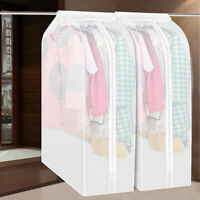 Dustproof Clothes Hang Garment Suit Coat Cover Protector Wardrobe Storage Bags