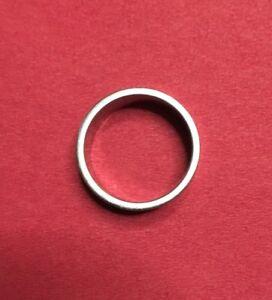 Damen Herren Edelstahl Damenring Band Ring Partnerring Edelstahlring Gr. 20