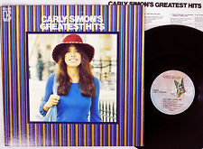 "CARLY SIMON ""Greatest Hits"" Rare 1970's Japanese RECORD CLUB ONLY Lp"
