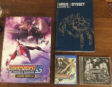 Ps Vita Dariusburst CS Chronicle Saviours Limited Edition Japanese Darius burst