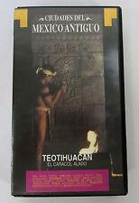 Ciudades Del Mexico Antiguo TAJIN & TEOTIHUACAN VHS Tape Spanish Language City