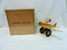 DAGWOOD AEROPLANE MARX 1930'S MINT IN BOX