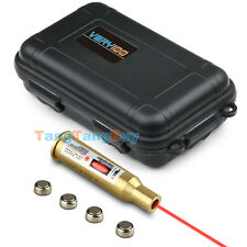 7.62 x 54R Brass Cartridge Red Laser Bore Sight VERY100 Waterproof Plastic Box