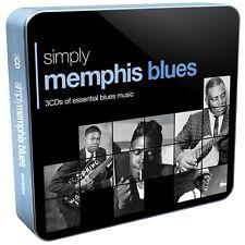 SIMPLY MEMPHIS BLUES (3CD TIN) 3 CD NEUF