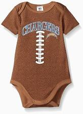 NFL Infants San Diego Chargers Football Bodysuit, Brown