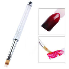 BORN PRETTY Gradient Painting Pen Drawing Brush White Rhinestone Nail Art Tools