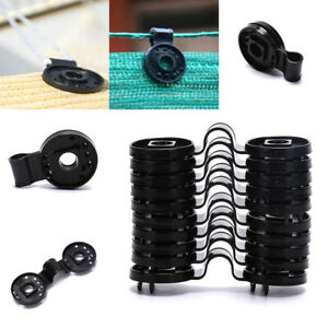 10PCS Greenhouse Film Clip Agriculture Sun Shade Clips Tools Hang Expand Grom HA