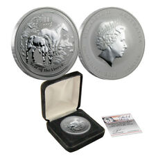 2014 1 oz Australian Silver Year of the Horse Perth Mint Uncirculated BU