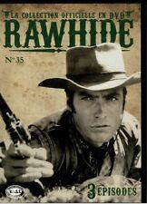 COLLECTION RAWHIDE ...  DVD N°35 ( épisodes 103 à 105 ) ... CLINT EASTWOOD