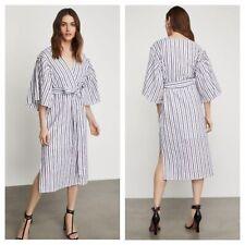 BCBG MaxAzria Kimono Dress Cotton Size M Nwt Retail $248