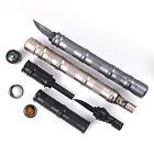 Tactical Pen Magnesium Flint Fire&compass&Whistle&Kinfe Survival EDC Kit NEW