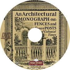 How To Build Fences and Gates { Victorian and Colonial Books & Plans } on DVD