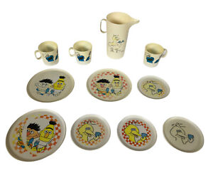 Sesame Street Play Dishes Chilton Toy Set