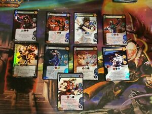 Universal Fighting System Foil Promos Rares Street Fighter Soul Caliber UFS