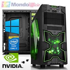 PC GAMING Intel i7 8700 - Ram 16 GB - SSD 480 GB - HD 2 TB - nVidia GTX 1060 6GB