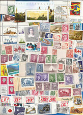 vintage MNH MINT UNUSED FULL GUM CANADA Canadian postage stamps lot A71