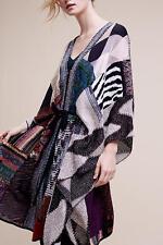 NWT Anthropologie Caroline Patchwork Poncho by Cecilia Prado One Size Sweater