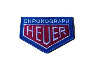 HEUER (b) Motor Racing / Motorsport Patch Sew / Iron On Badge