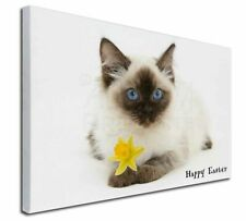 More details for ragdoll cat any name 'happy easter' x-large 30