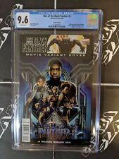 Rise Of The Black Panther #2 CGC 9.6 Chadwick Boseman Movie Photo Variant 🔥