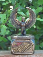 Isis (Aset) Trinket Box ~ Veronese Collection, 11.5cm Tall, Egyptian