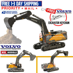 1/50 VOLVO CONSTRUCTION CE EC950E CRAWLER EXCAVATOR DIECAST WSI MODELS 61-2001