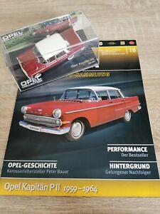 Eaglemoss Opel Collection Modellauto 1:43 Opel Kapitän P2 1959 - 1964