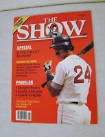 The Show June 1990 Premiere Issue Special June Draft Report Magazine Collectible