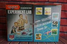 Vintage Gilbert Chemistry Experiment Lab No. 12046 Manual Metal Case VTG Set Kit