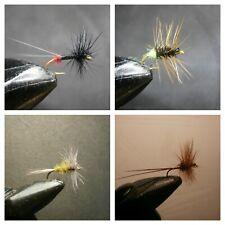 1 DOZEN  DRY FLIES FOR FLY FISHING (4 MODELS)-SEC 35