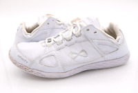 Nfinity Womens 12 White Cheer Shoes Synthetic Comfort Athletic Dance Sneakers