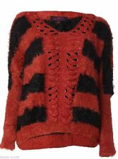 Geometrische Damen-Pullover aus Wolle