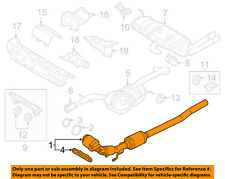 VW VOLKSWAGEN OEM 15-17 Beetle 1.8L-L4 Exhaust System-Front Pipe 5C0254501