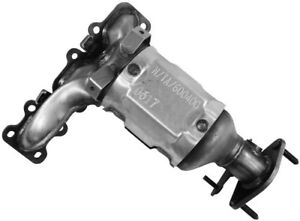 Exhaust Manifold with Integrated Catalytic Converter Front Walker 16728