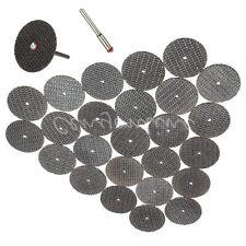25x Black Cutting 32mm Wheel Disc + 1 Mandrel Bit For Dremel Rotary Tool Set