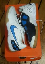 Nike Total 90 Shoot III IC 385411-141 jr Indoor Soccer Shoes blue white sz 2.5