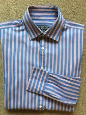 Charles Tyrwhitt Mens Cotton Striped Shirt L