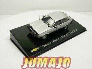 CVT44 voiture 1/43 IXO Salvat BRESIL CHEVROLET : Chevette hatch S/R 1.6 1981