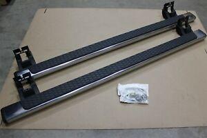 OEM Factory 13-16 Ram 1500 QUAD CAB Tubular Running Boards Side Step Kit Chrome