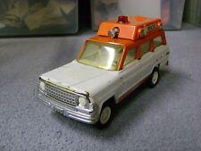Vintage Tonka Jeep Wagoneer Rescue Ambulance Pressed Steel 1970's