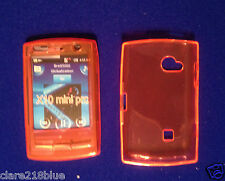 Sony Ericsson X10 MINI PRO SOFT GEL Housse ORANGE CHAUSSETTE