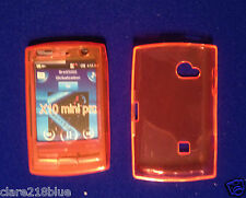 Sony Ericsson X10 Mini Pro Soft Gel Orange Case Cover  Stocking