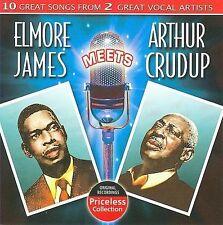 NEW Elmore James Meets Arthur Crudup (Audio CD)