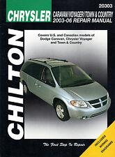 2003-2006 Chilton Chrysler Caravan, Voyager & Town & Country Repair Manual